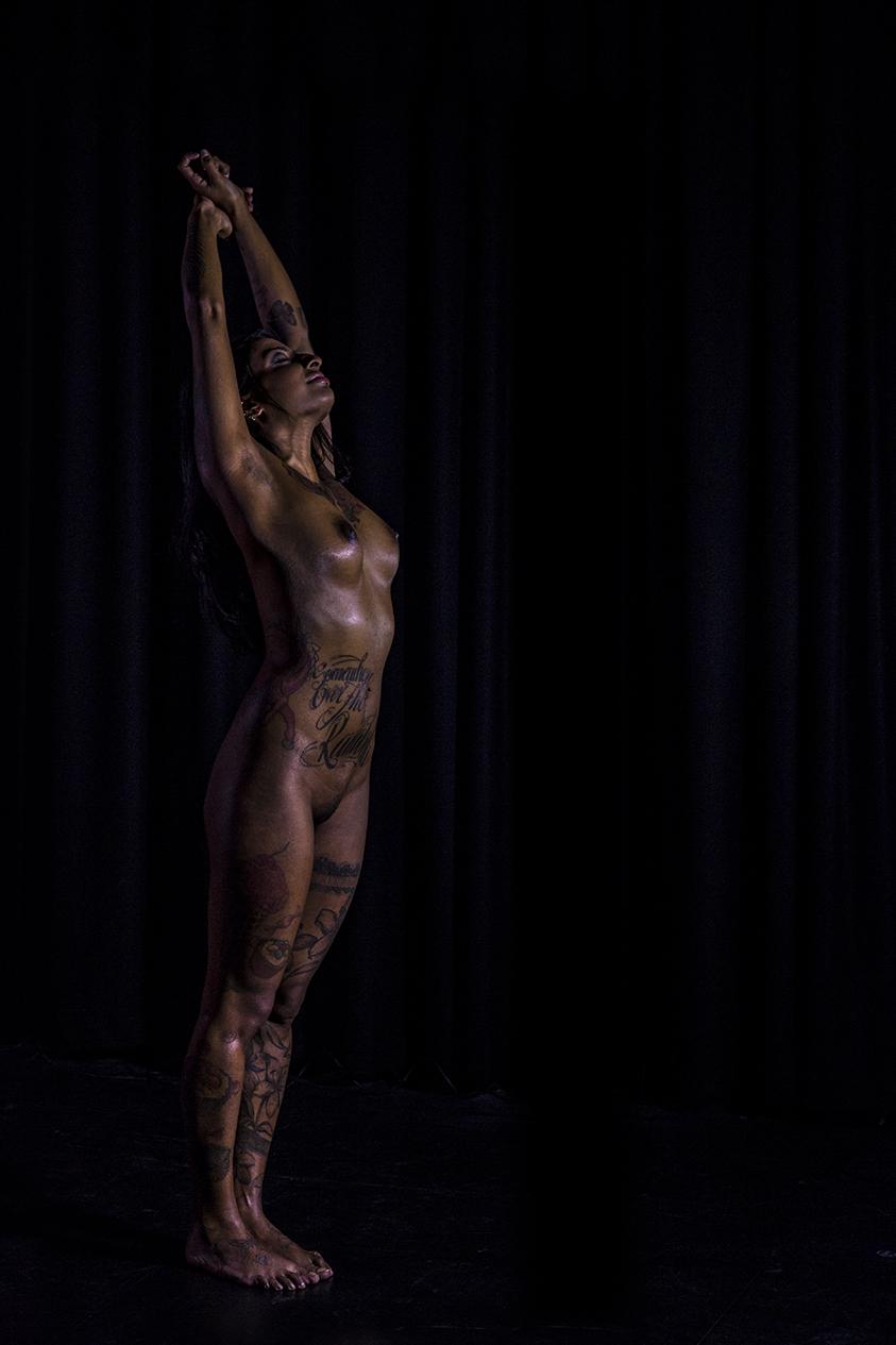 Tattoed nude