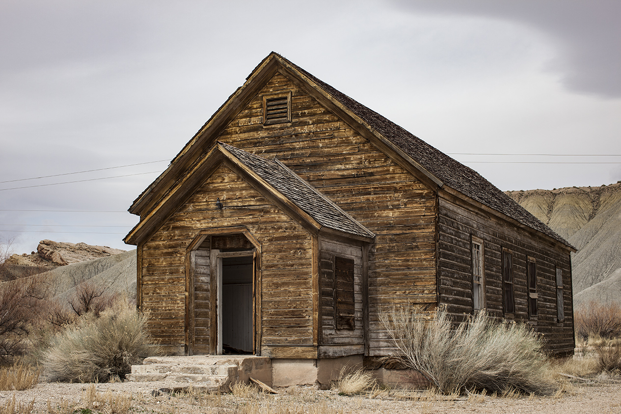 The old Schoolhouse, Utah