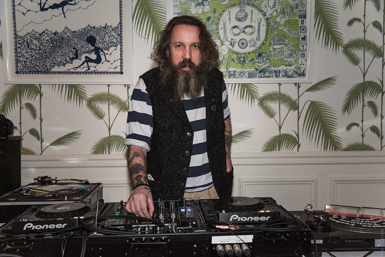 Andrew Weatherall, DJs and record producer he passed away on the 17 February 2020.